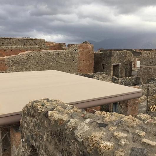 Corian® Exteriors inPompeii Archeology Park / Corian® Exteriors