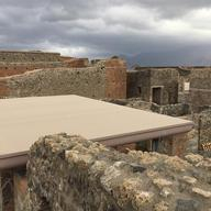 Corian® Exteriors inPompeii Archeology Park