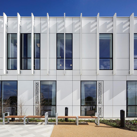Corian® Cladding in NGS MacMillan unit