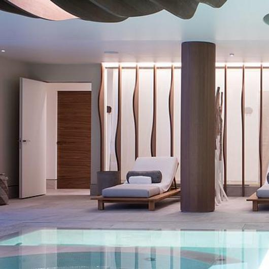 Flush With the Wall Doors - Six Senses Spa / Linvisibile