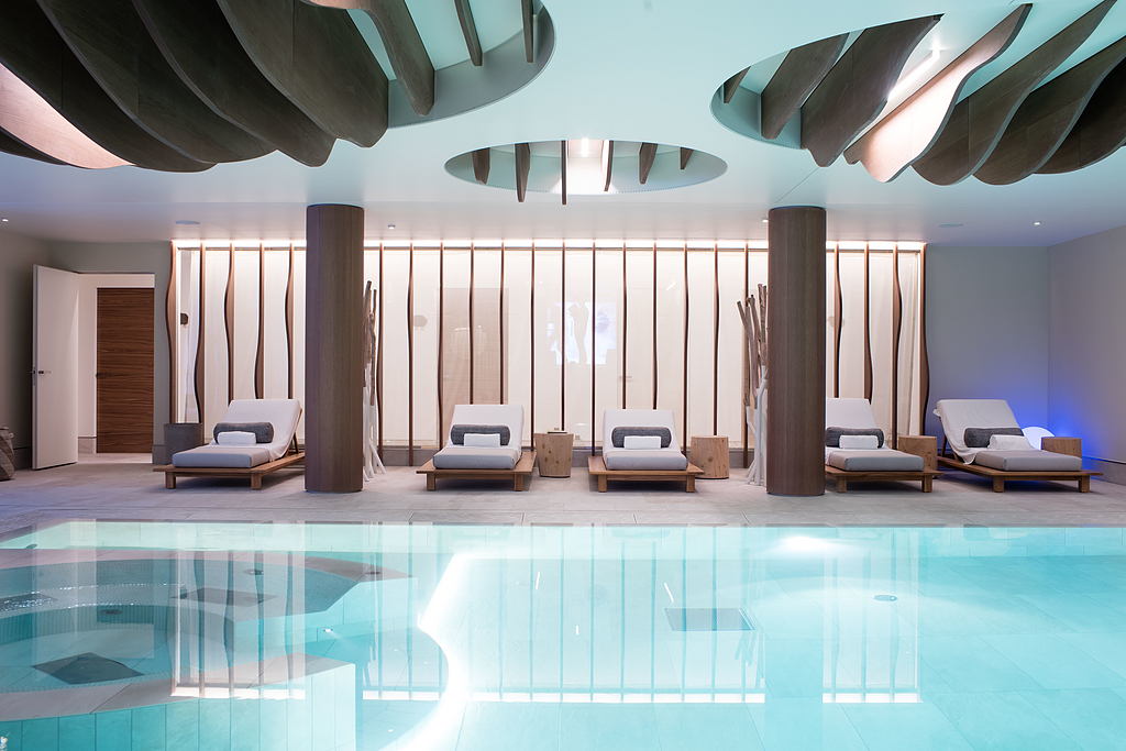 Flush With the Wall Doors - Six Senses Spa