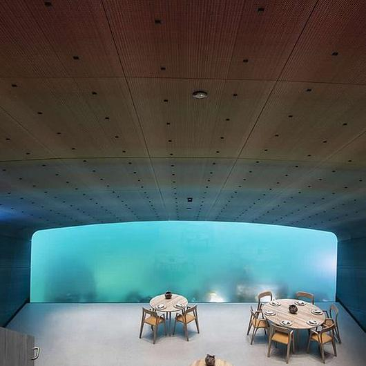 Acoustic Panel System in Under by Snøhetta