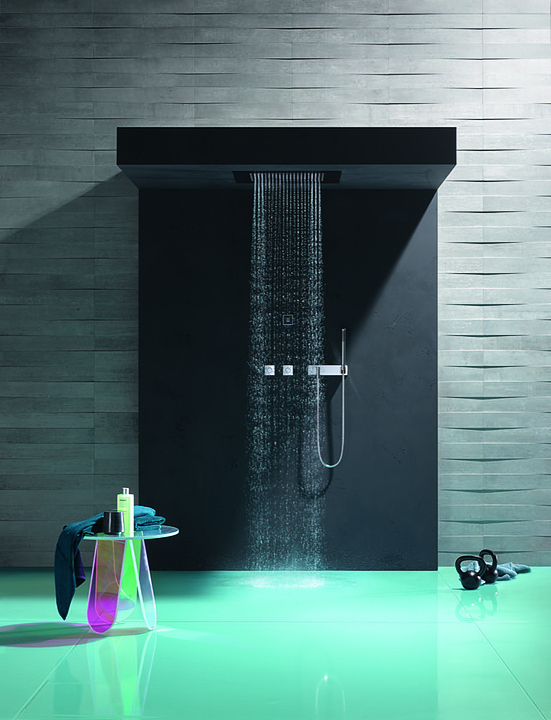 Spa Solutions - eUnit Shower