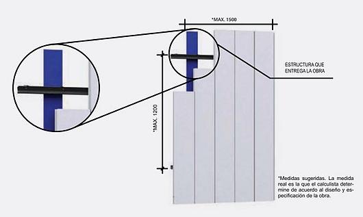 Revestimiento metálico Panel F | Hunter Douglas