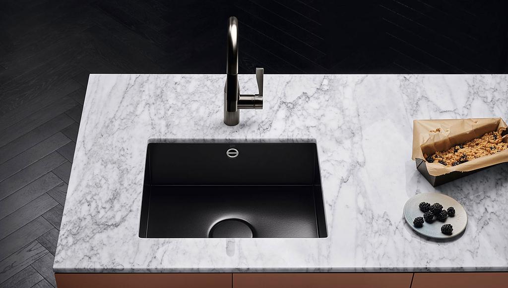 Kitchen Sinks - Glazed Steel