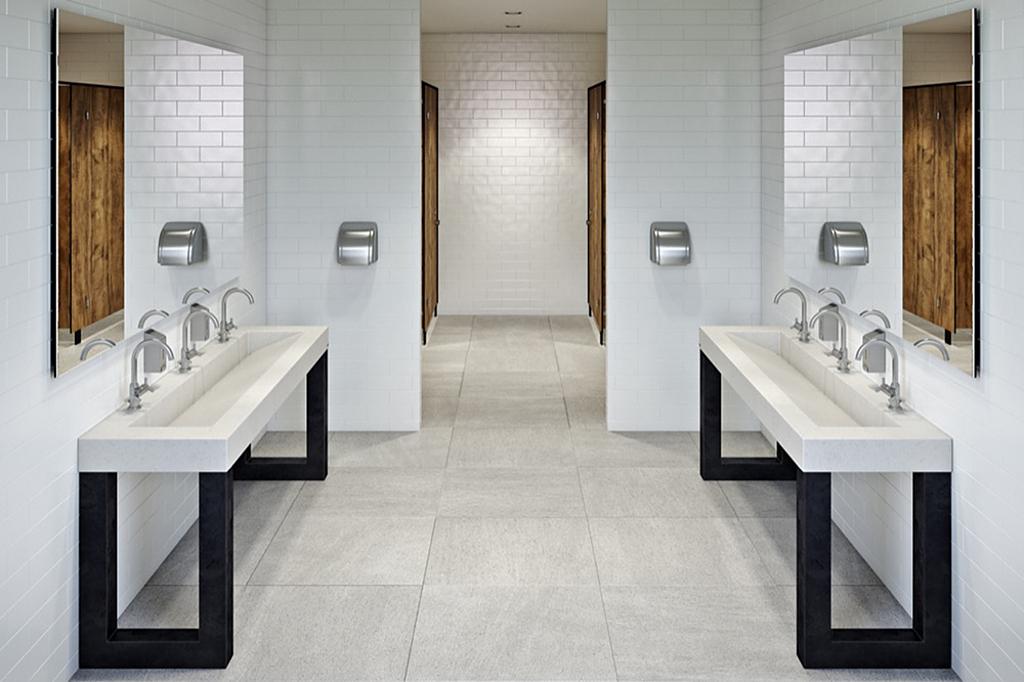 Ada Concrete Washstand Zen From