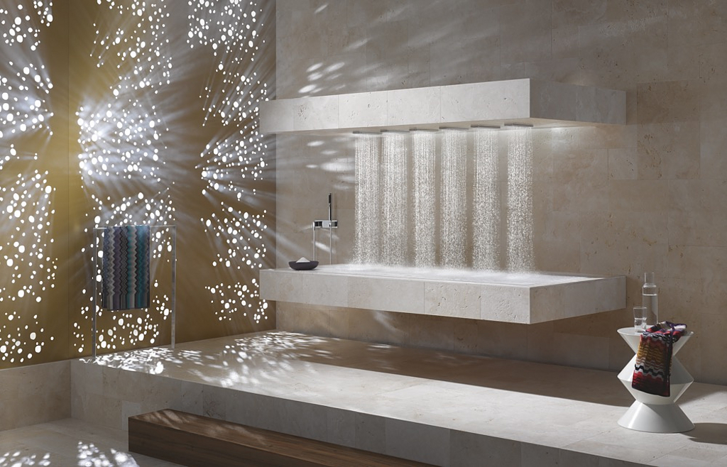 Spa Solutions - Horizontal Shower