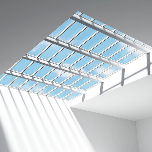 Modular Skylights - Step Longlight and Step Ridgelight / VELUX Commercial