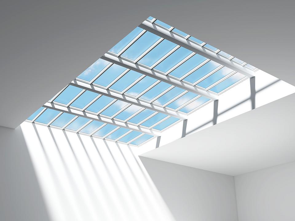 Modular Skylights - Step Longlight and Step Ridgelight