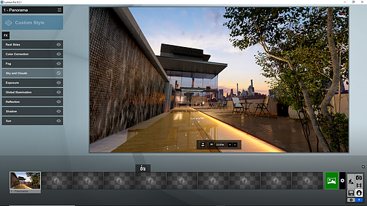 Render Output - 360 Panoramas from Lumion