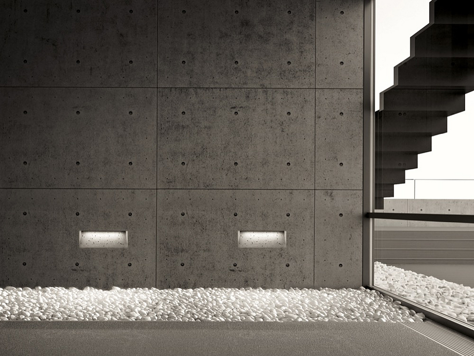 Recessed Lights - Ghost for Cast Concrete