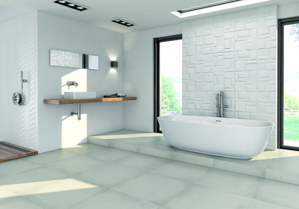 Porcelanato White & Co. / Grespania