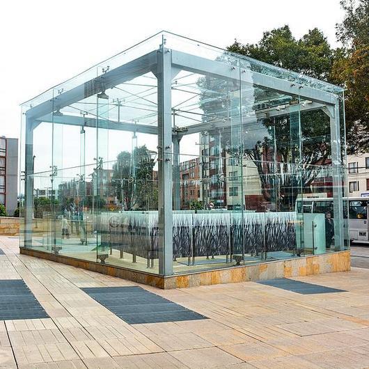 Vidrio dual estructural