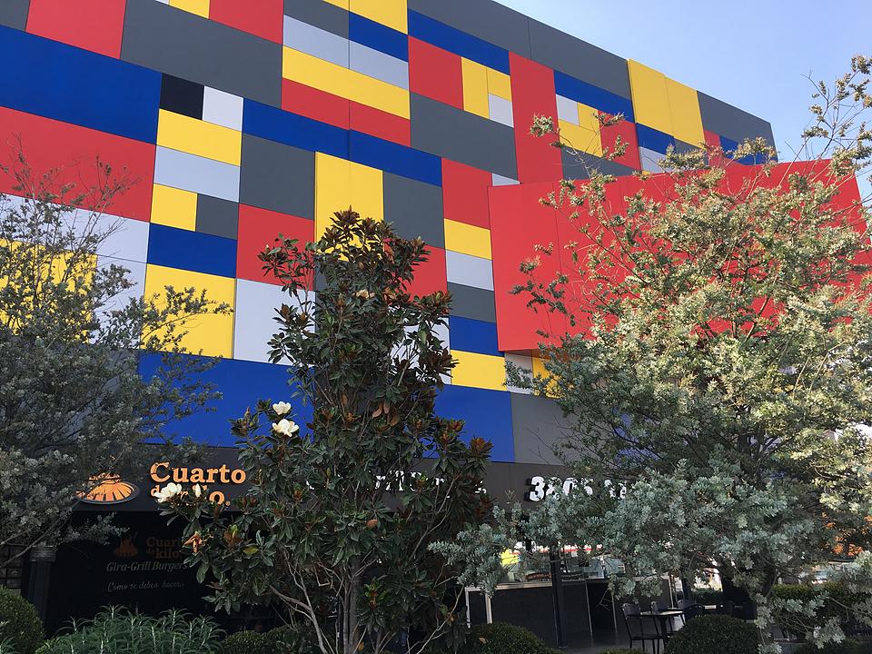 Panel de Aluminio STACBOND– Remodelación Plaza Square