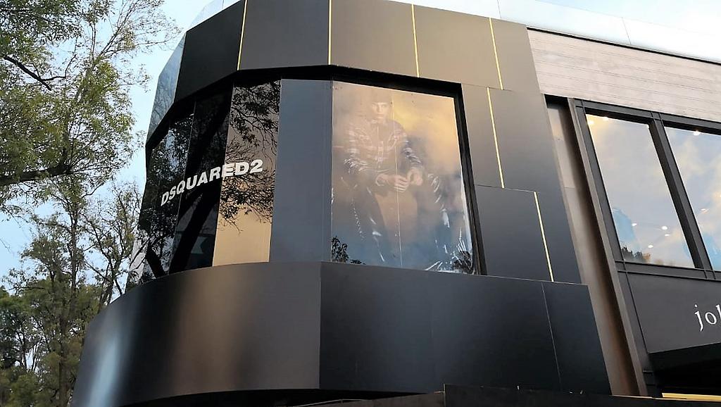 Panel de Aluminio STACBOND– Remodelación Dsquare2