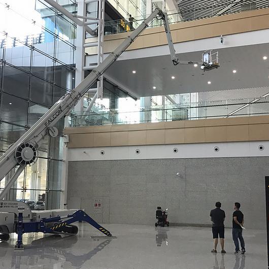 Falcon Spider Lifts in Chongging Jiangbei International Airport, China