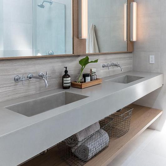 Custom Concrete Sinks - TrueForm