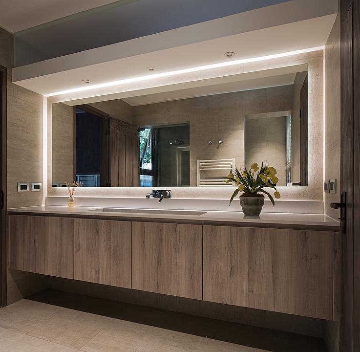 Muebles de baño en melamina