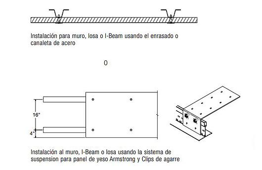 Invisacoustics | Instalación