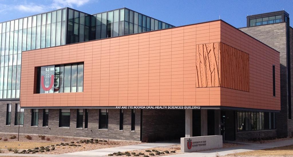 University Of Utah Dental School >> Gallery Of Neacera Rainscreen Facade In Higher Education 3