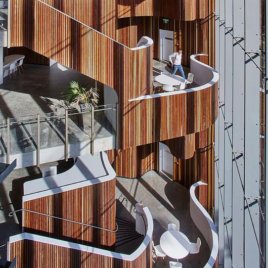 Timber Cladding – Click-on Battens