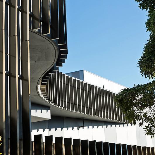 Façade System– Aluminium Blades