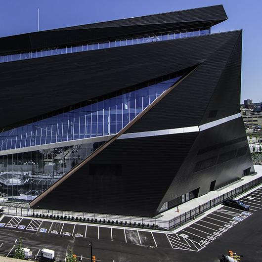 Metal Cladding – Vintage Steel in US Bank Stadium