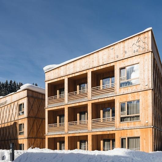 EGGER OSB & DHF in Hotel Tirol Lodge Ellmau / EGGER