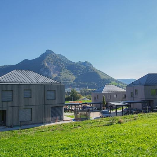 EGGER OSB & DHF in Aigner Low-energy Housing / EGGER