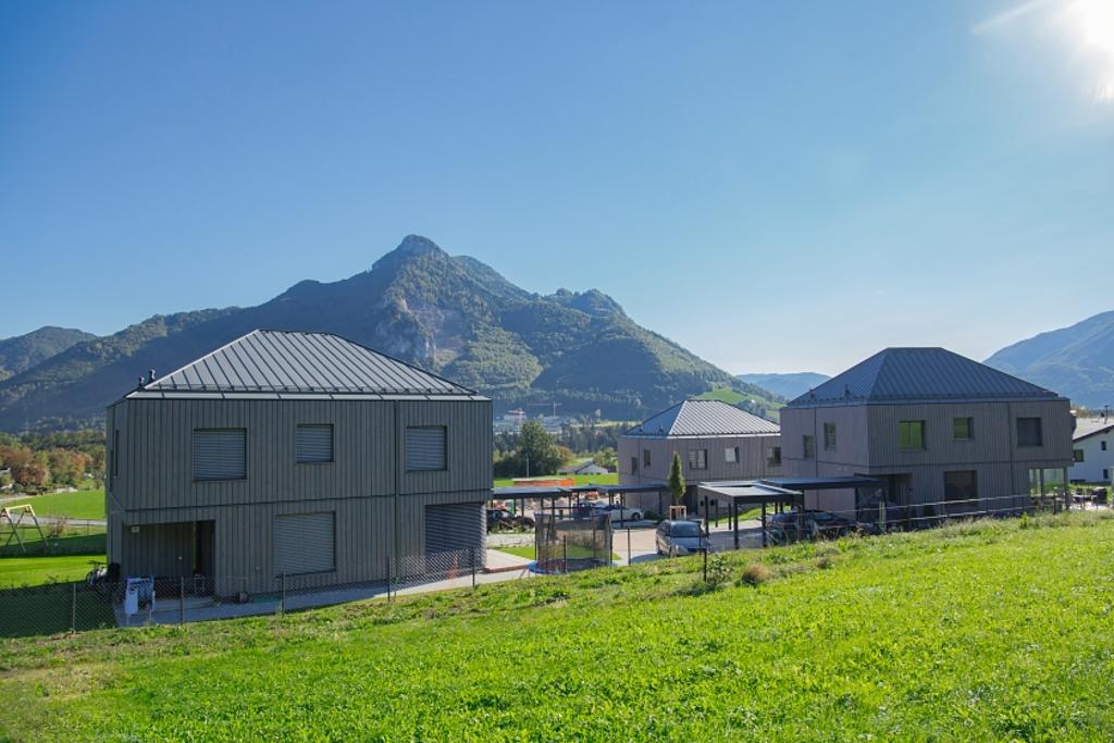 EGGER OSB & DHF in Aigner Low-energy Housing