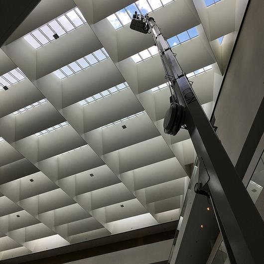 Falcon Spider Lift in the Nordea Bank Headquarters