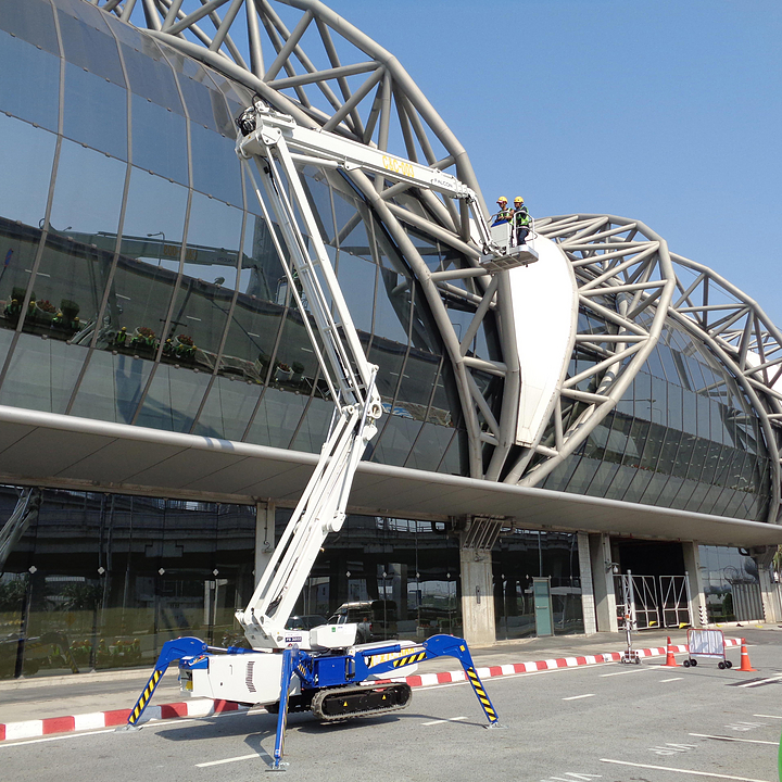 Falcon Spider Lift in New Bangkok International Airport