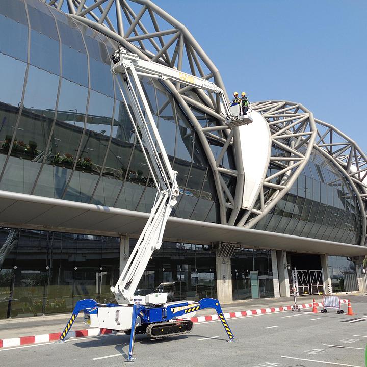 Falcon Spider Lift in New Bangkok International Airport