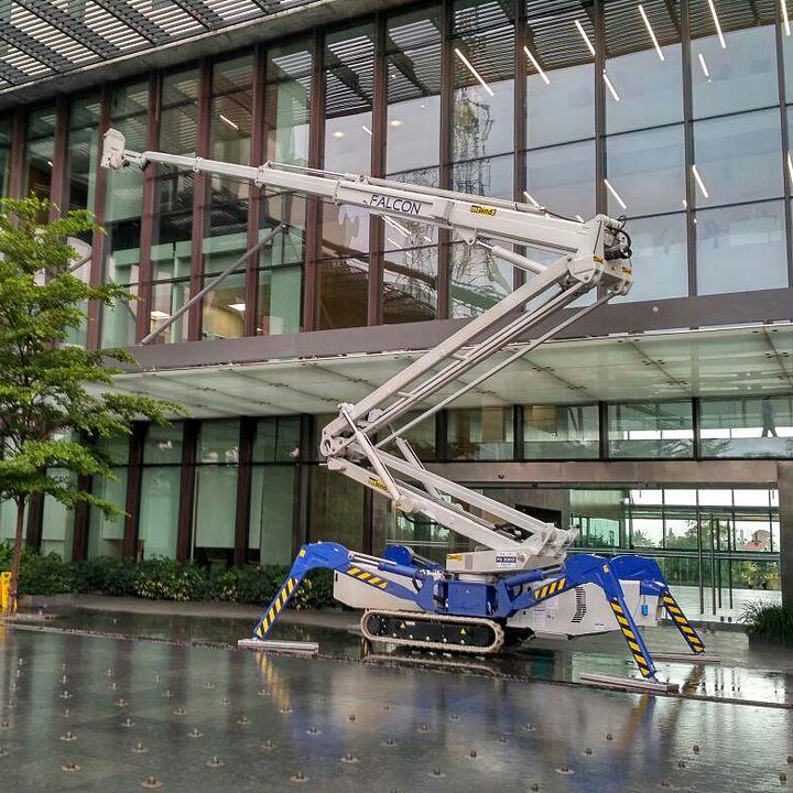 Falcon Spider Lift in Lupin Research Centre