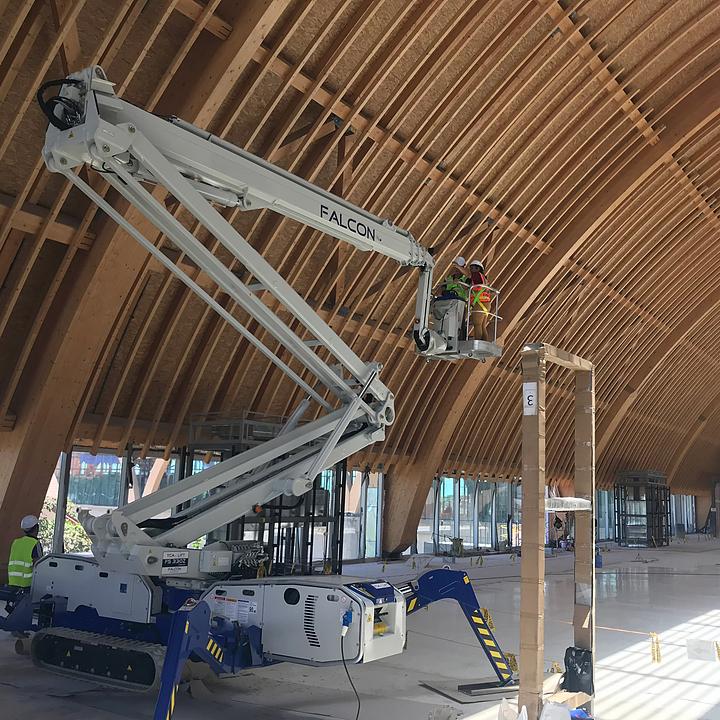 Falcon Spider Lift in Cebu International Airport