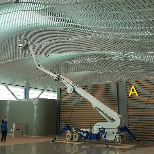 Falcon Spider Lift in Incheon International Airport / Falcon Lifts