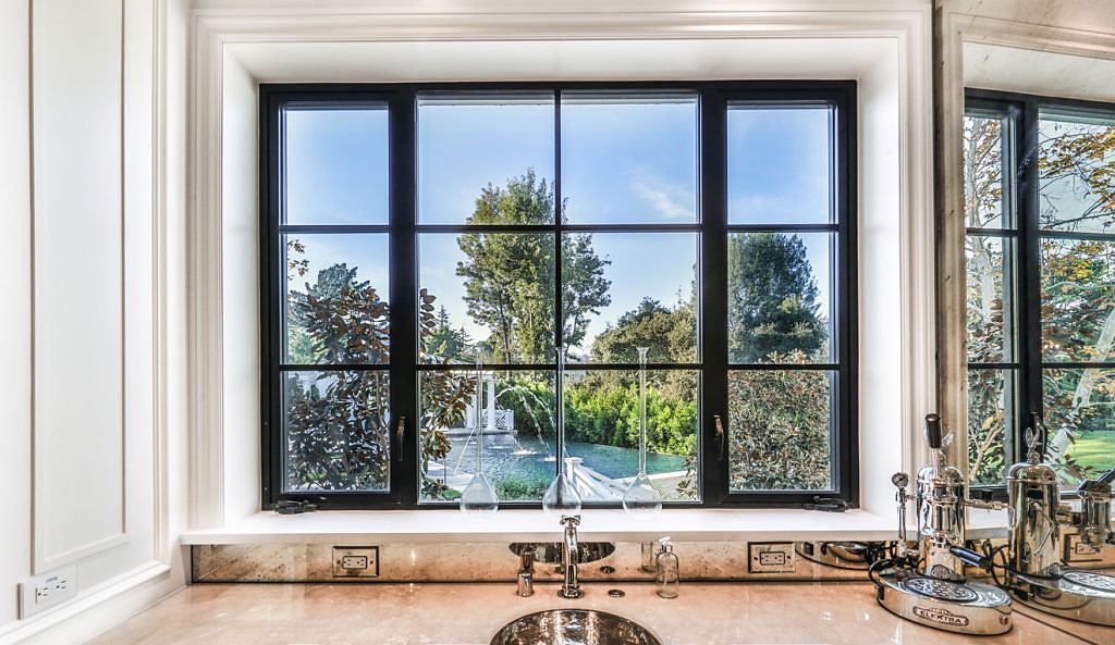 Thermal Aluminum Casement Window - T225 Steel Look