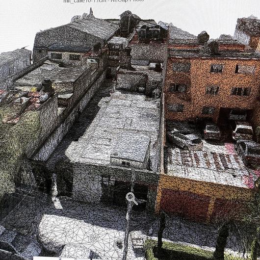 Contexto 3D a base de fotogrametría con RPAS