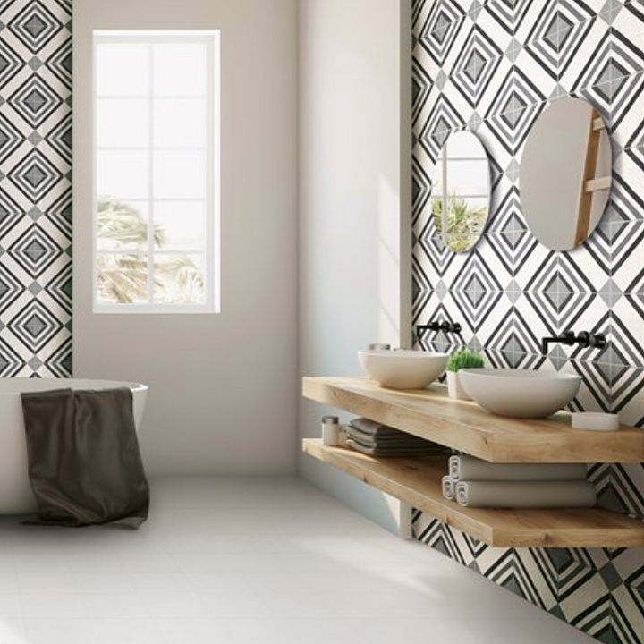 Porcelain Tiles in Bathrooms