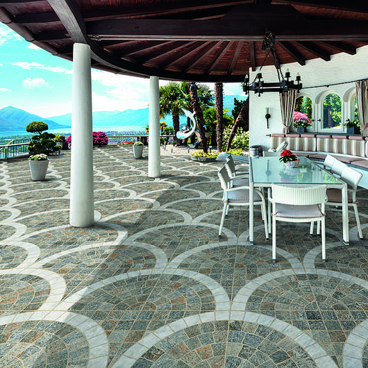 Porcelain Tiles in Exterior Applications / Ceramica Rondine
