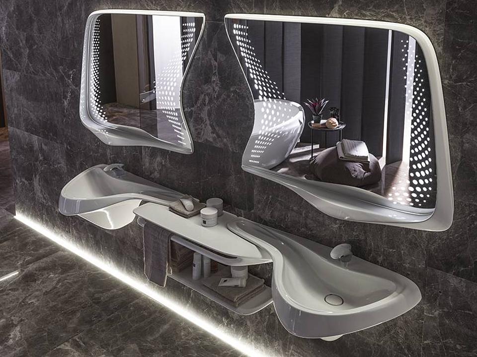 Colección de Baños Vitae- Zaha Hadid