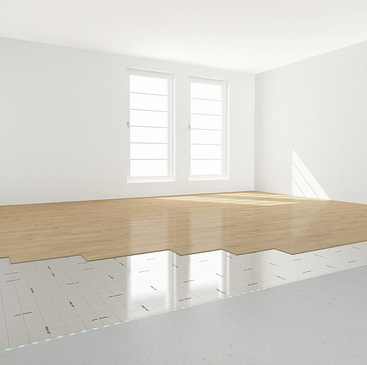 Bases aislantes para pisos fotolaminados y madera - SELIT