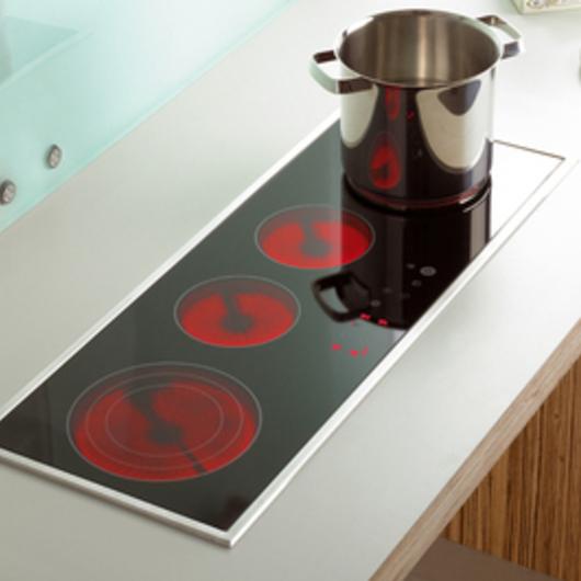 cocinas encimeras vitrocer micas de teka. Black Bedroom Furniture Sets. Home Design Ideas