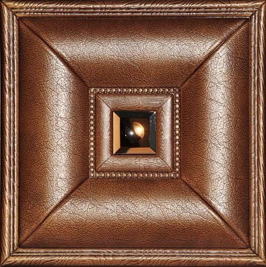 Faux Leather Tiles | Decorative Ceiling Tiles