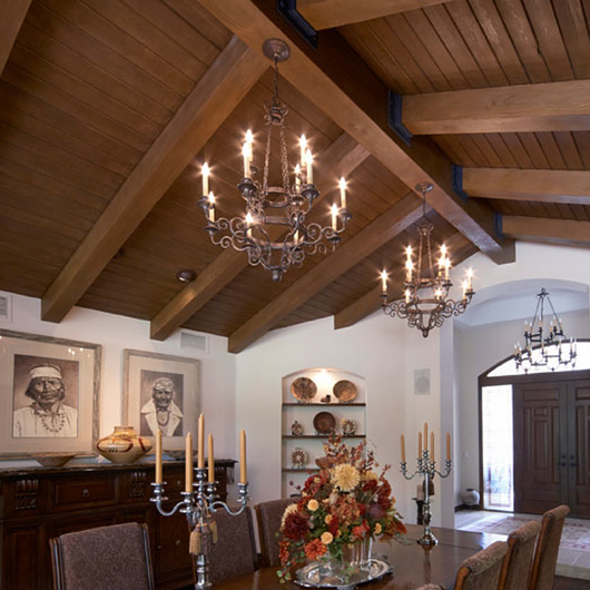 Faux Wood Beams / Decorative Ceiling Tiles