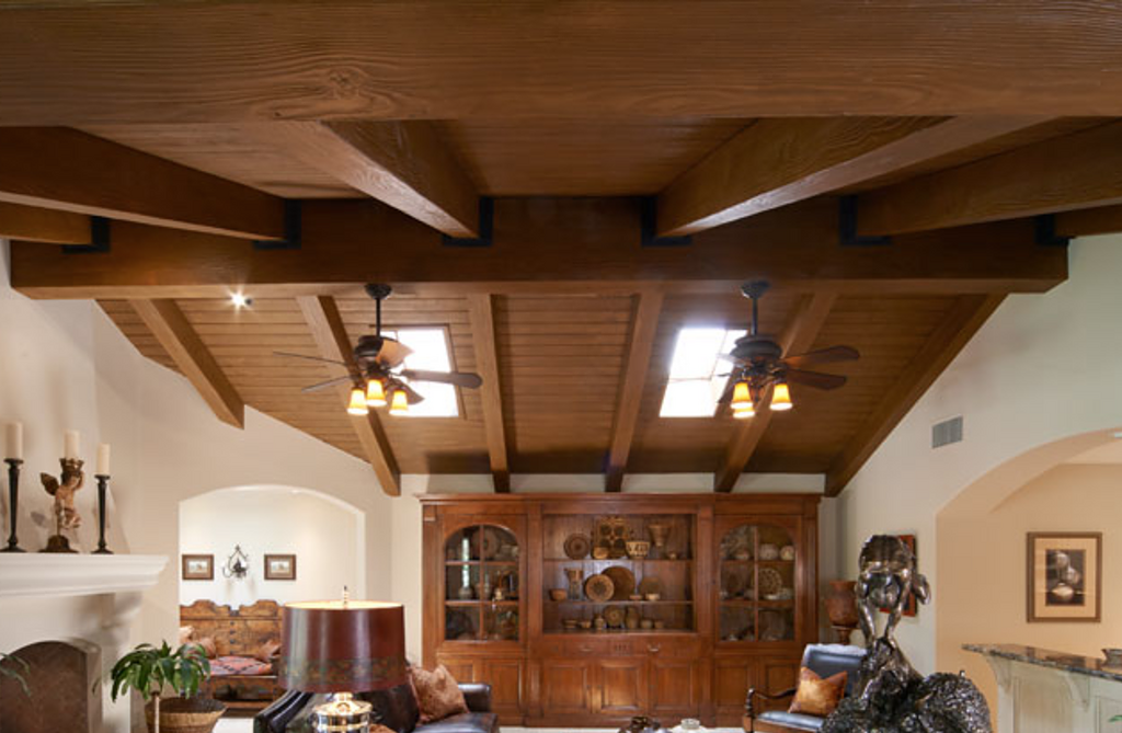 Faux Wood Beams Decorative Ceiling Tiles