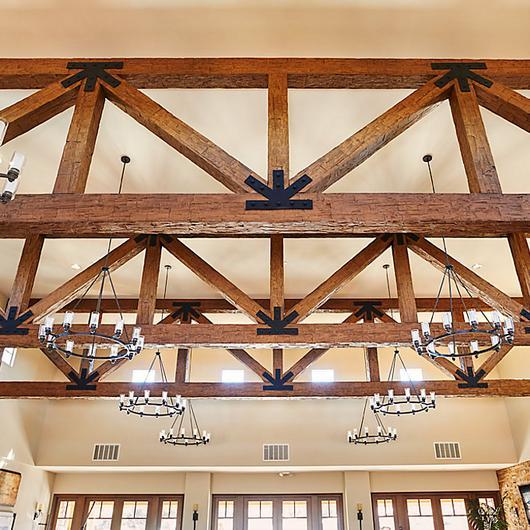 Faux Wood Truss Systems / Decorative Ceiling Tiles