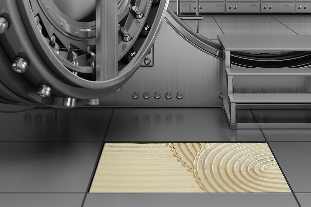 Adhesivo para pisos de sustrato de acero -  Planicrete W