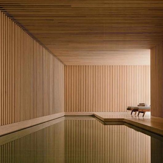 Revestimientos de bambú para pisos, muros y cielos