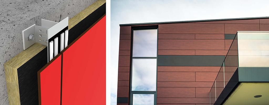 ¿Cómo diseñar fachadas ventiladas?